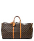 Keepall Bandouliere 55 brown holdall Sale - vintage louis vuitton Sale