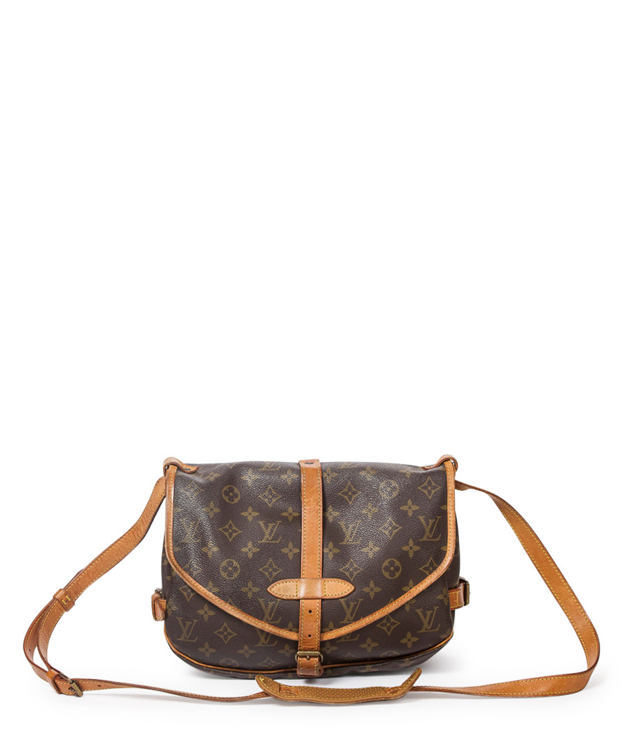 2874b9f872f2 Saumur 25 brown monogram cross body Sale - vintage louis vuitton ...
