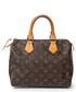 Speedy 25 brown canvas grab bag Sale - Vintage Louis Vuitton Sale