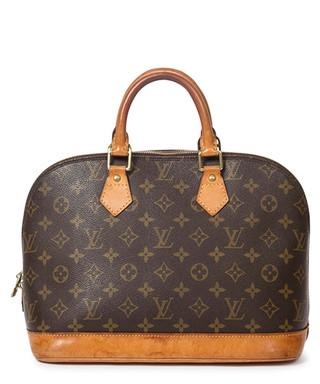 29a3b610bfed9 Alma PM brown canvas monogram bag Sale - Vintage Louis Vuitton Sale