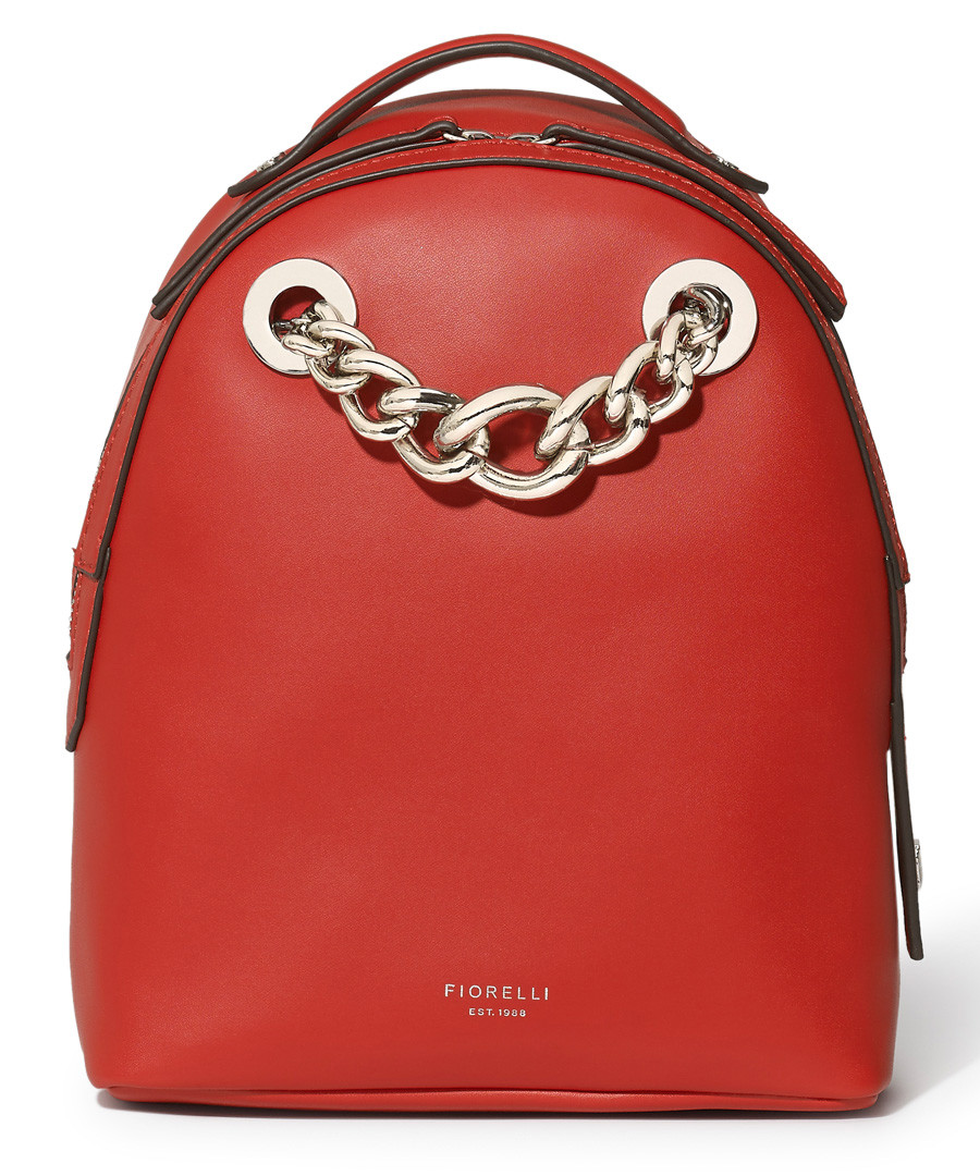 Anouk red chain detail backpack Sale - Fiorelli