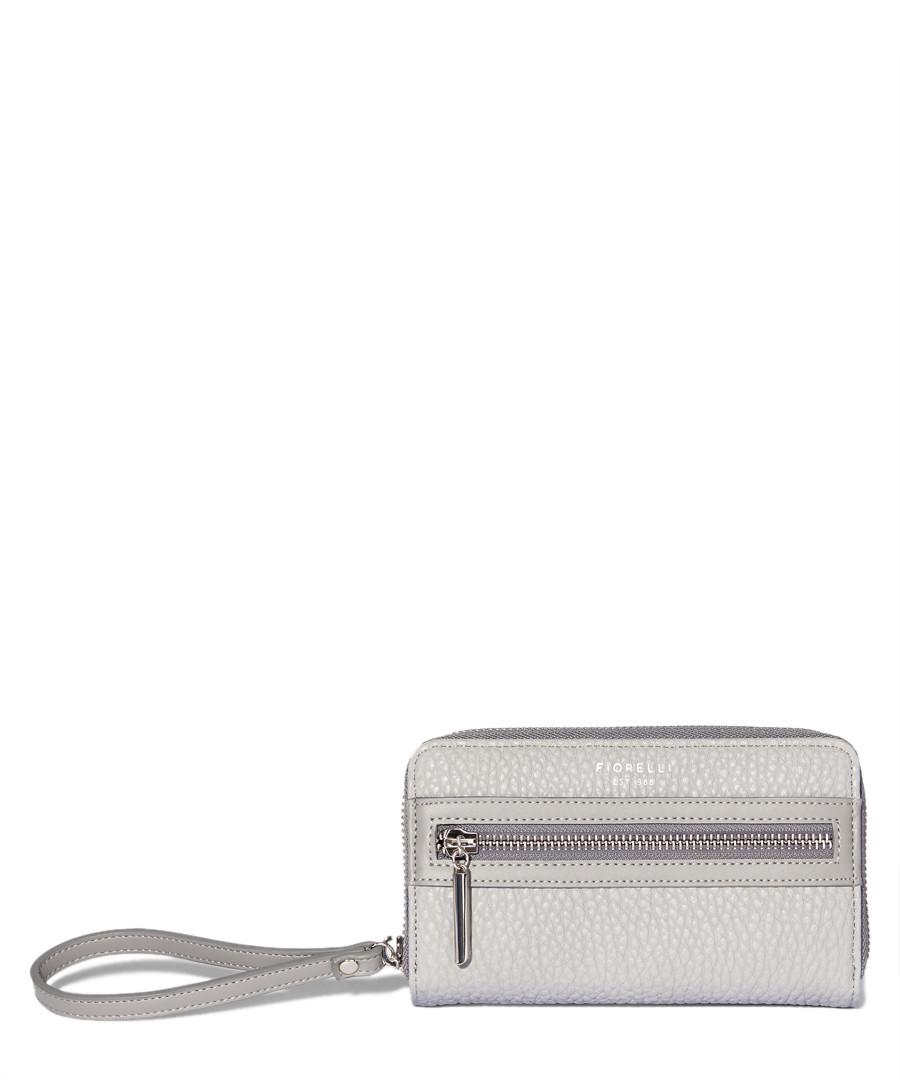 6dc0a9a4ec Abbey grey dropdown zip around purse Sale - Fiorelli