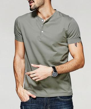 ee5fa20f7 Green cotton blend polo shirt Sale - Kuegou Sale