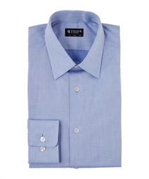Farrell blue pure cotton shirt