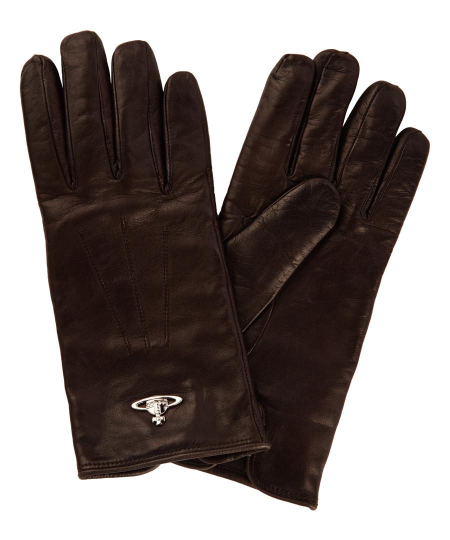 Dark brown gloves Sale - Vivienne Westwood