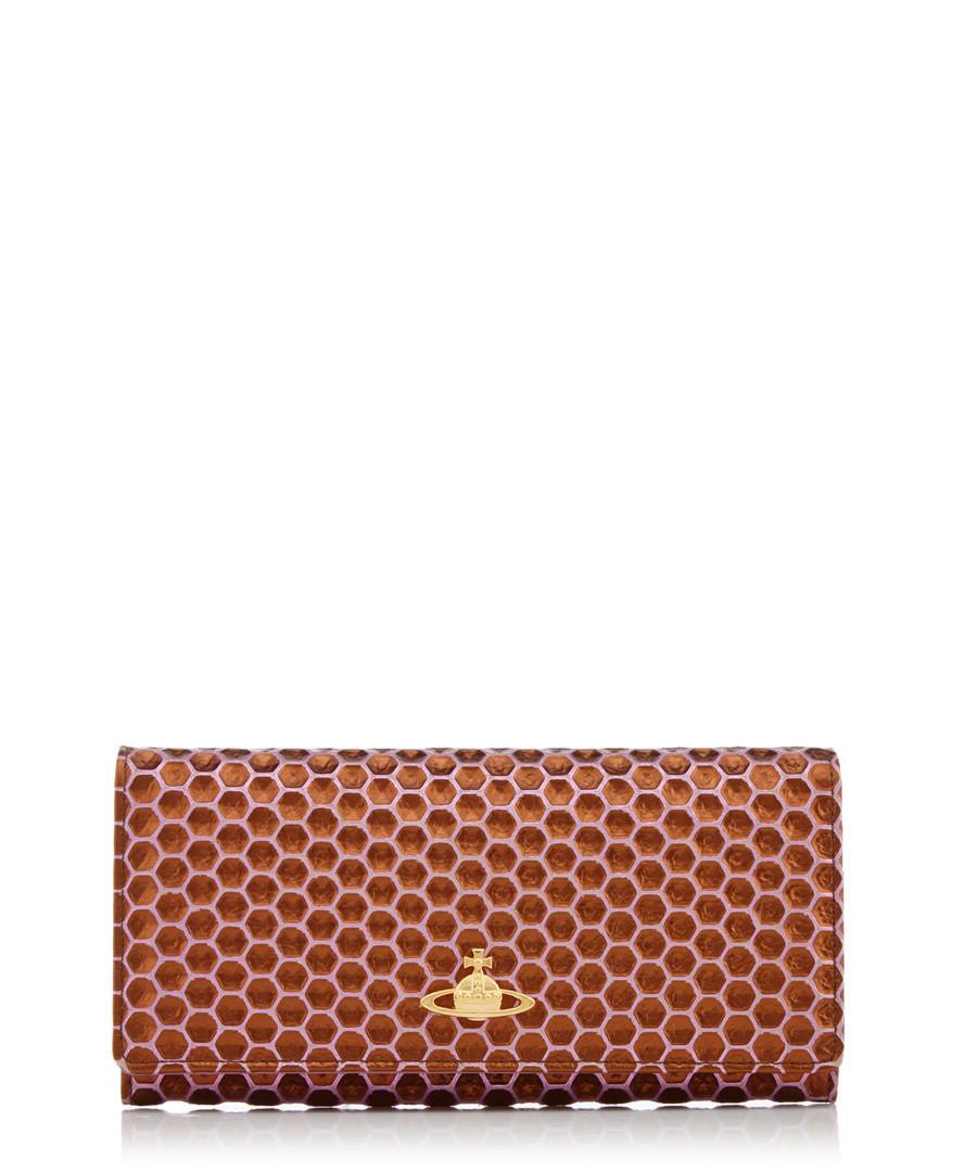72d90bb5a3a Honeycomb violet leather purse Sale - vivienne westwood ...
