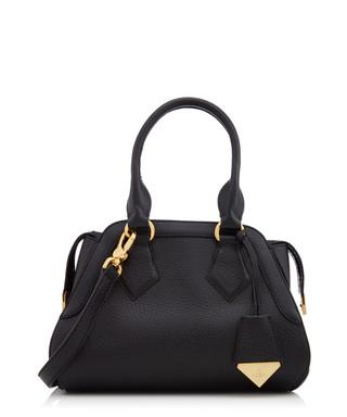 635b380b0f4 Kensington black leather shoulder bag Sale - Vivienne Westwood Sale