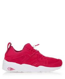 Blaze Of Glory berry sneakers