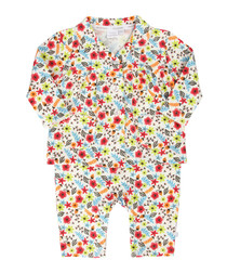 2pc floral cotton pyjama set