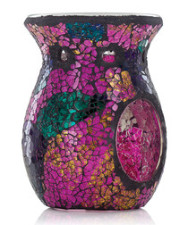 Purple Rain mosaic oil burner