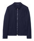 Evening blue cotton zip up jacket Sale - gant Sale