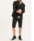 Scott black cotton zip up shirt Sale - true prodigy Sale