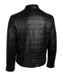 Theo black leather quilted jacket Sale - true prodigy Sale