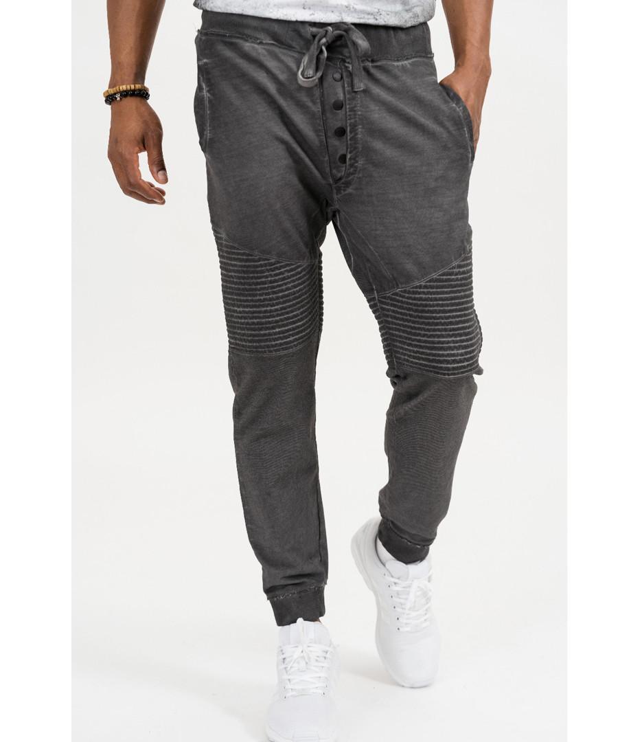 William anthracite cotton trousers Sale - true prodigy