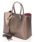 Gold-tone leather boxy grab bag Sale - zoe & noe Sale