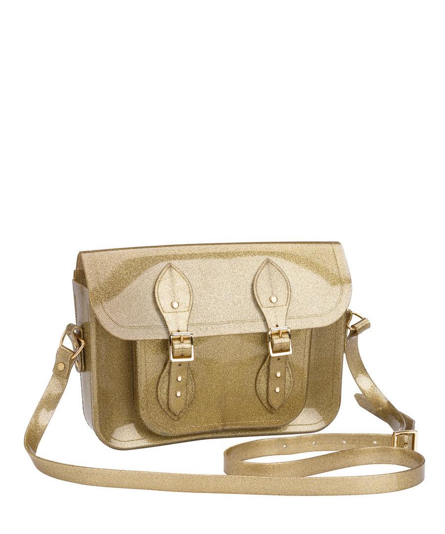 Melflex gold glitter buckle shoulder bag Sale - MELISSA