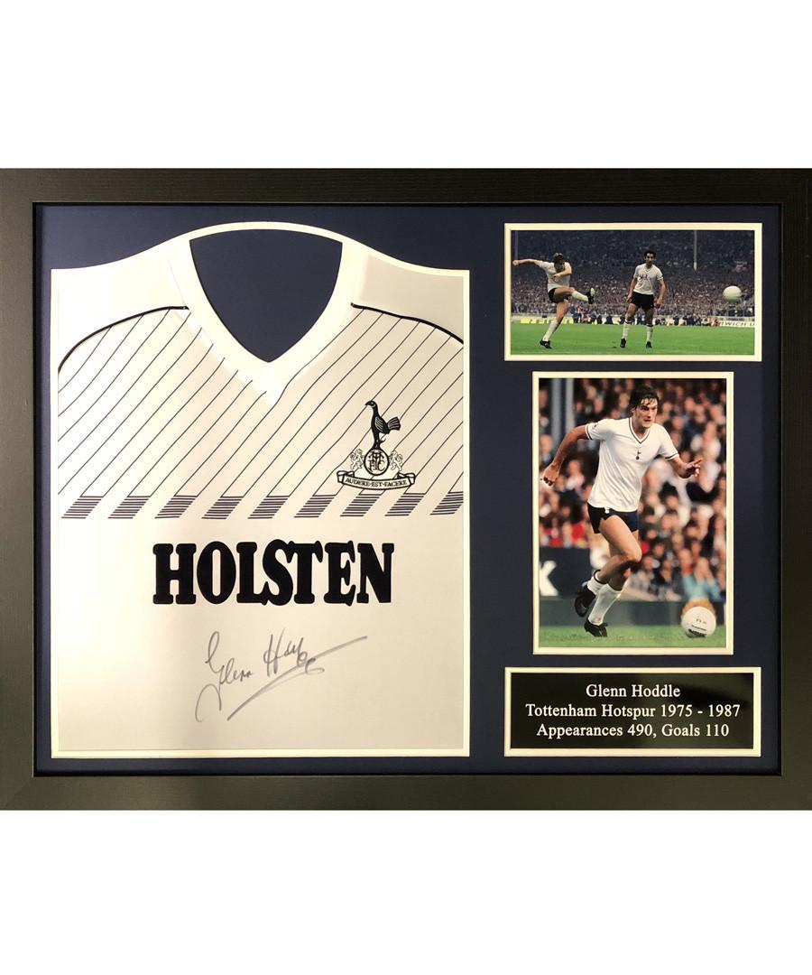 Discount Glenn Hoddle signed & framed shirt | SECRETSALES