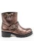 Bronze-tone leather buckle boots Sale - v italia by versace 1969 abbigliamento sportivo srl milano italia Sale