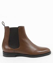 Women's Brown Chelsea boots