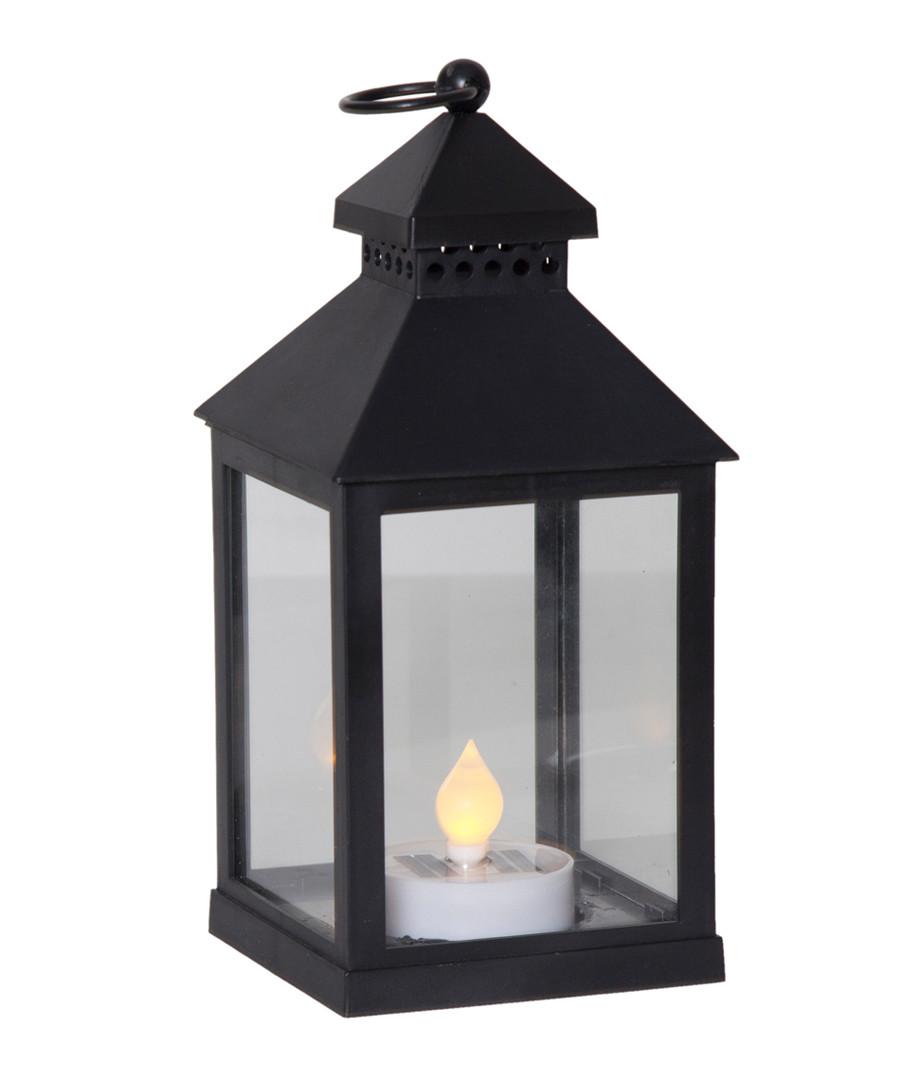 Black solar lantern Sale - solar lighting