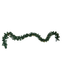 Green Canadian light garland
