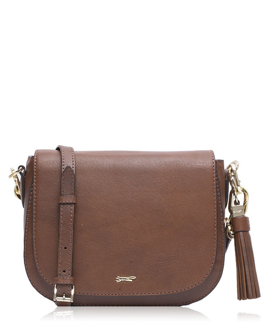 21891b44b94a The Chika tan leather cross body bag Sale - Paul Costelloe