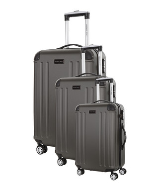 d3f21fd28 3pc Swan grey spinner suitcase nest Sale - Travel One Sale