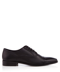 Reckless black Derby shoes