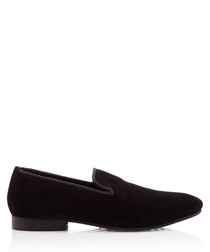 Riverview black slip-on shoes