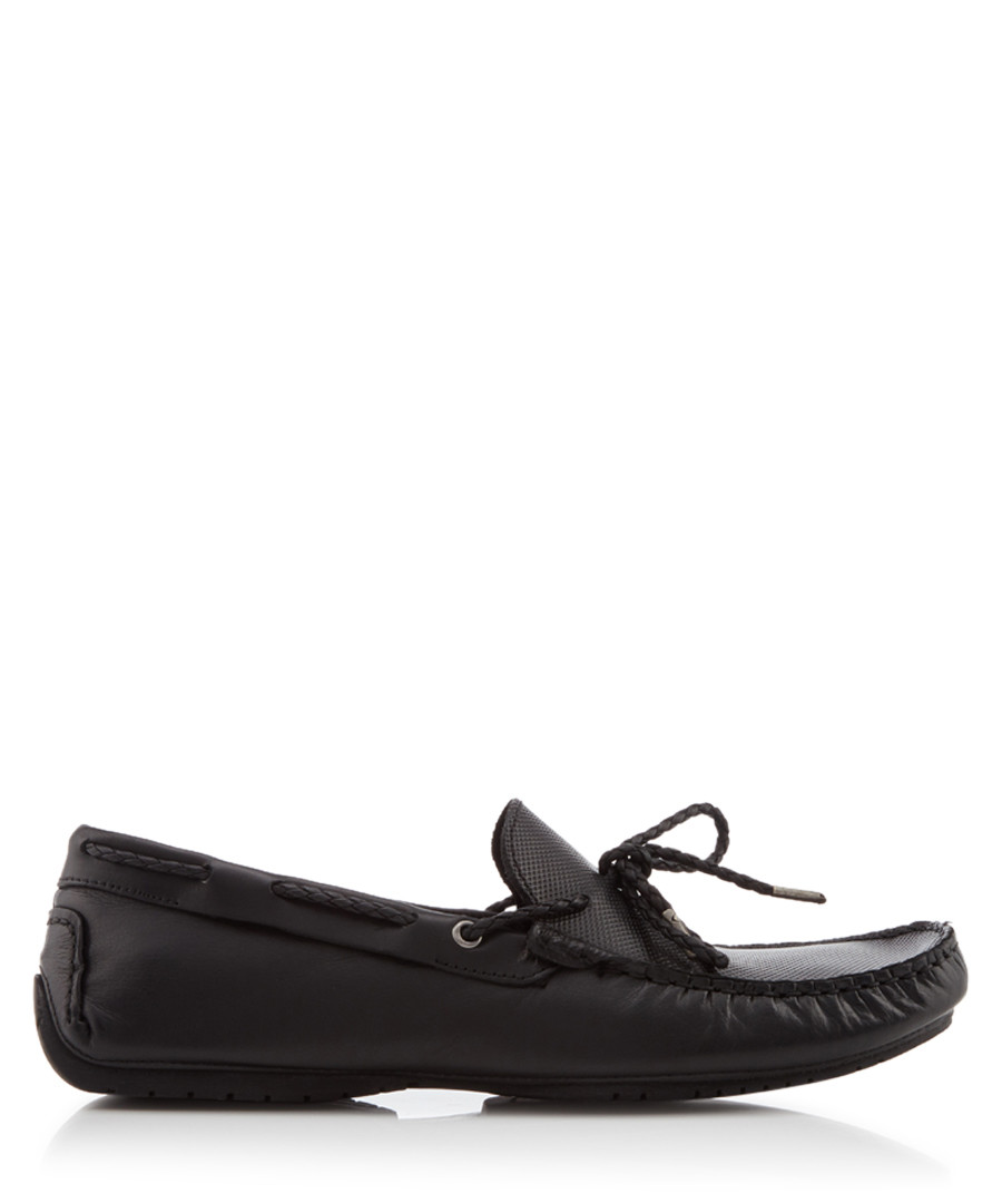 Carmen black laced loafers Sale - Dune Mens