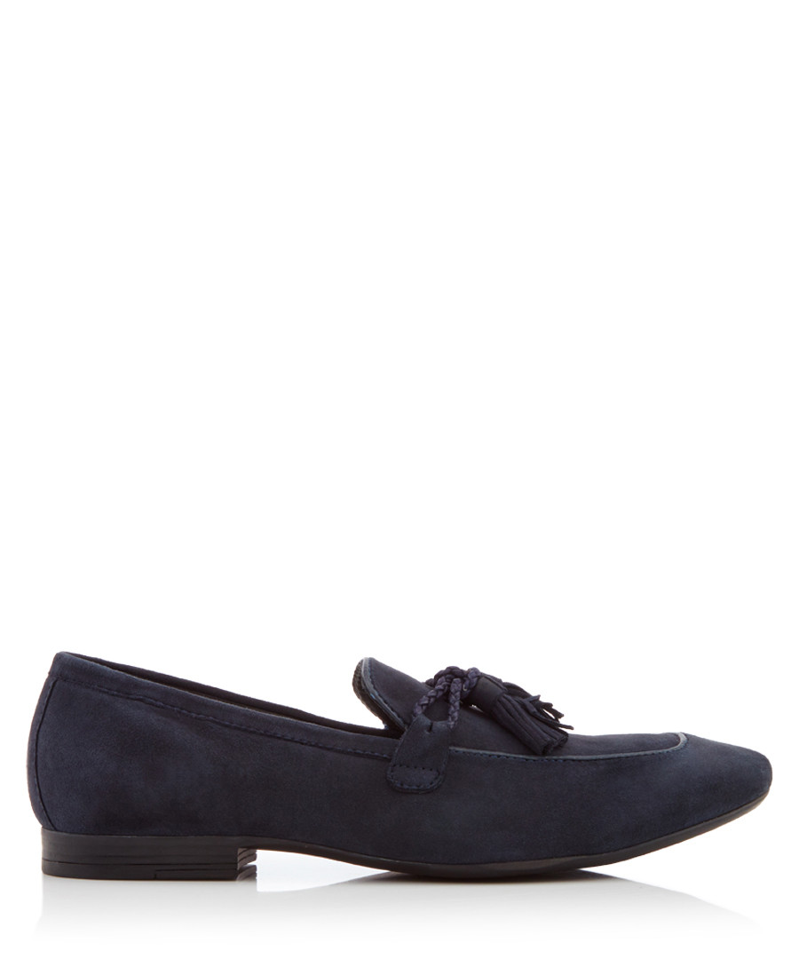 Antio navy tassel loafers Sale - Dune Mens
