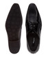 Rhymes black leather Derby shoes Sale - dune Sale