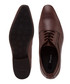 Rhymes brown leather Derby shoes Sale - dune Sale