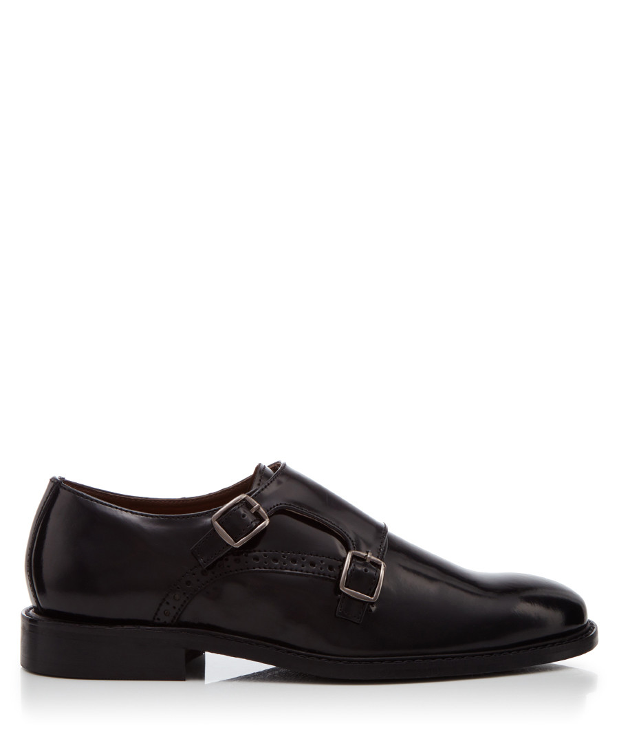 Parsons Green black leather shoes  Sale - dune