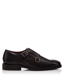 Parsons Green black leather shoes