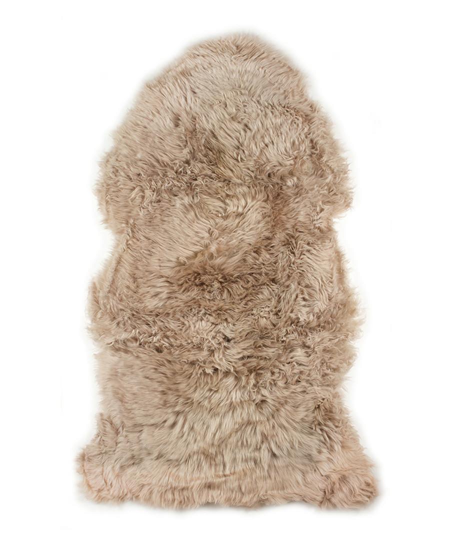 Light brown sheepskin rug Sale - royal dream