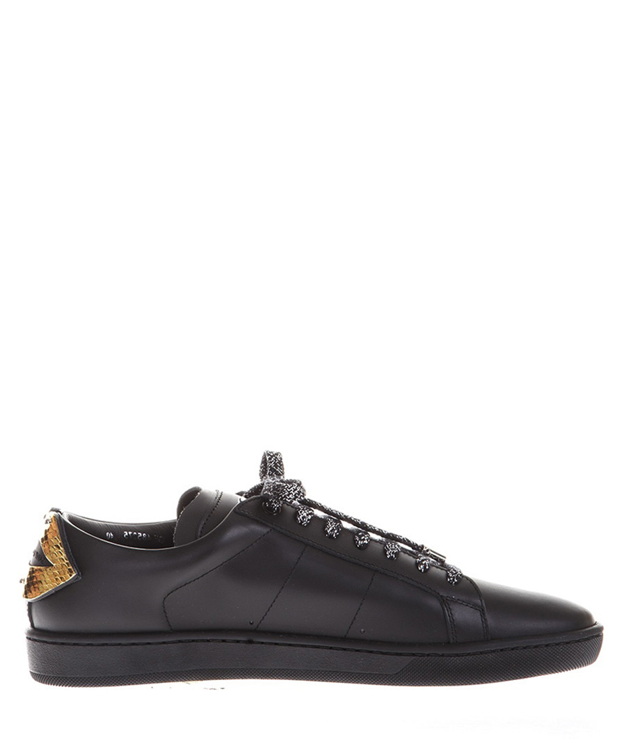 Court black leather sneakers Sale - saint laurent