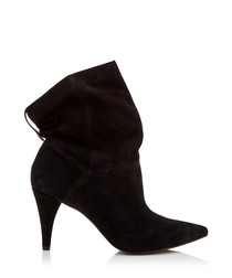 Carey suede pointed heel boots
