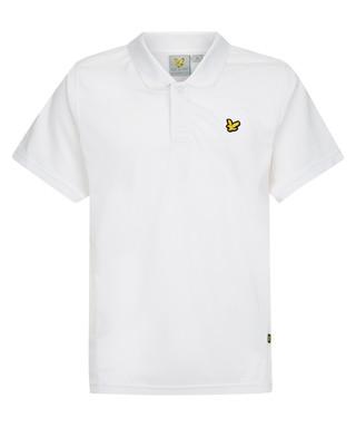 f824a32776b3 Foster white short sleeve polo shirt Sale - Lyle & Scott Sale