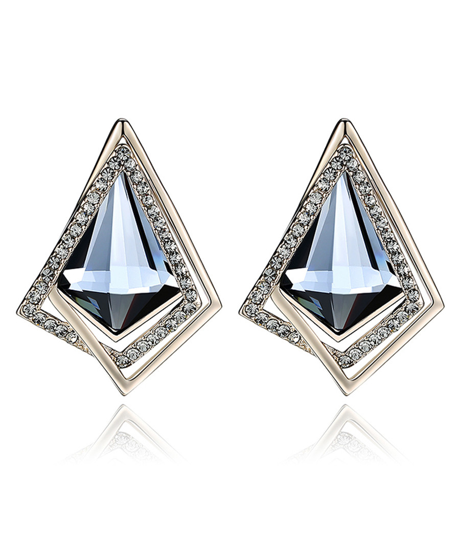 Bright Prism 18ct gold-plated earrings  Sale - caromay