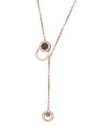 Titanium Roman Rings necklace