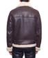 Men's Bombardier brown lambskin jacket Sale - john & yoko Sale