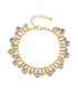 Gold-plated & crystal drop bracelet Sale - saint francis crystals Sale