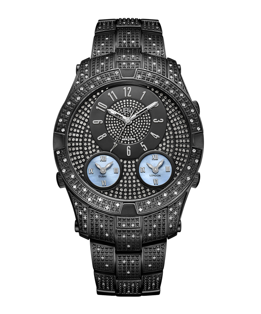 Jet Setter III black diamond watch Sale - jbw