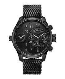 G3 World Traveler black diamond watch