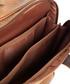 Tan leather dual travel laptop bag  Sale - woodland leathers Sale