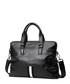 Black leather stripe detail briefcase Sale - hautton Sale