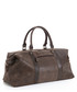Crackle brown leather holdall  Sale - woodland leathers Sale