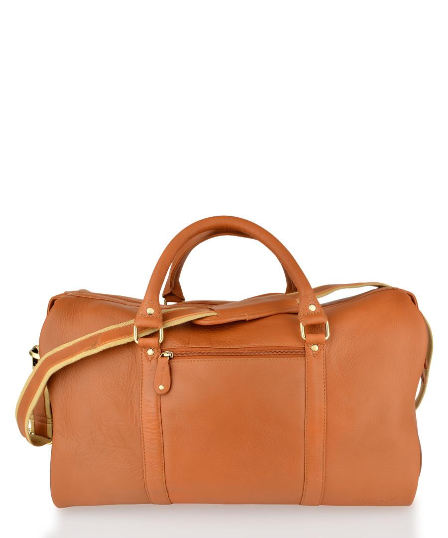 Tan leather holdall Sale - woodland leathers