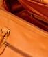 Orange leather holdall Sale - woodland leather Sale